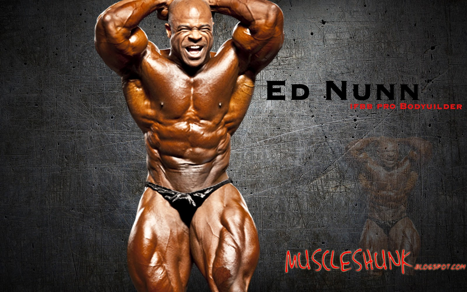 Edward S. Nunn-Beautiful Muscles Man Boigraphy and Images