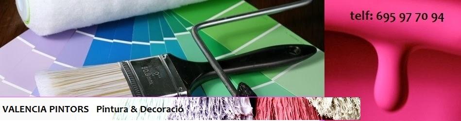 Pintura i decoració per interior i exterior