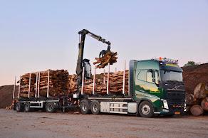 Nieuwe Volvo vrachtwagen