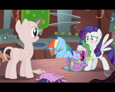 Shortly after becoming an alicorn, Twilight immediately set out to put her new power level to the test