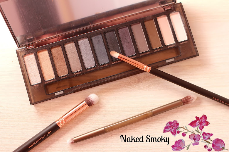 Idée makeup avec la Naked Smoky Urban Decay