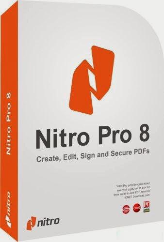 Nitro PDF Professional Enterprise 8 (32-bit+64-bit) v8.0.10.7 + Key