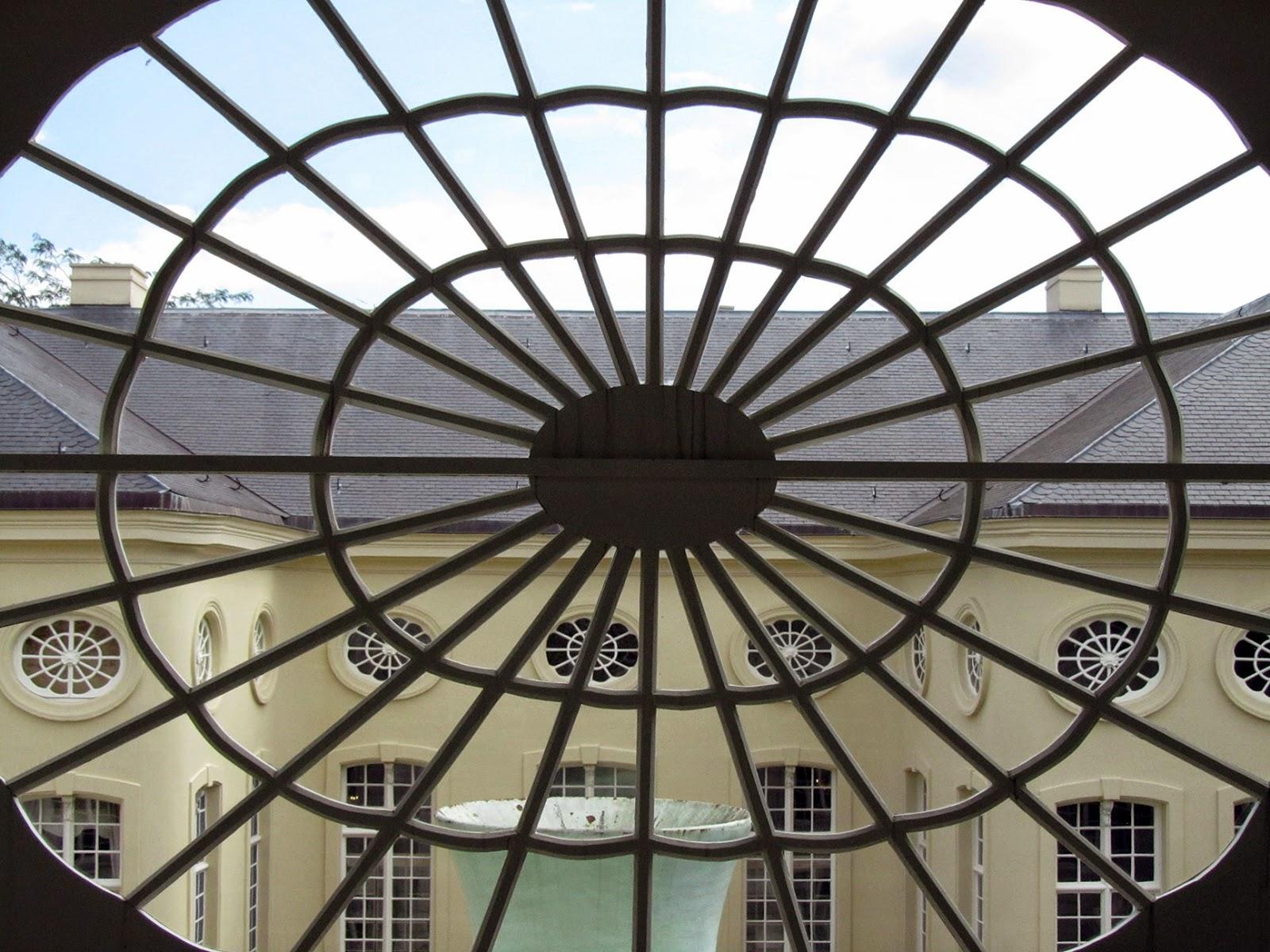 window at the Design Museum Gent