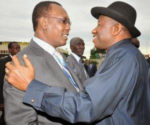 Idriss Deby and Goodluck Jonathan