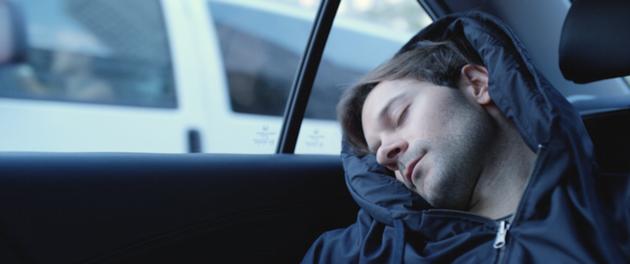 genius way to nap anywhere