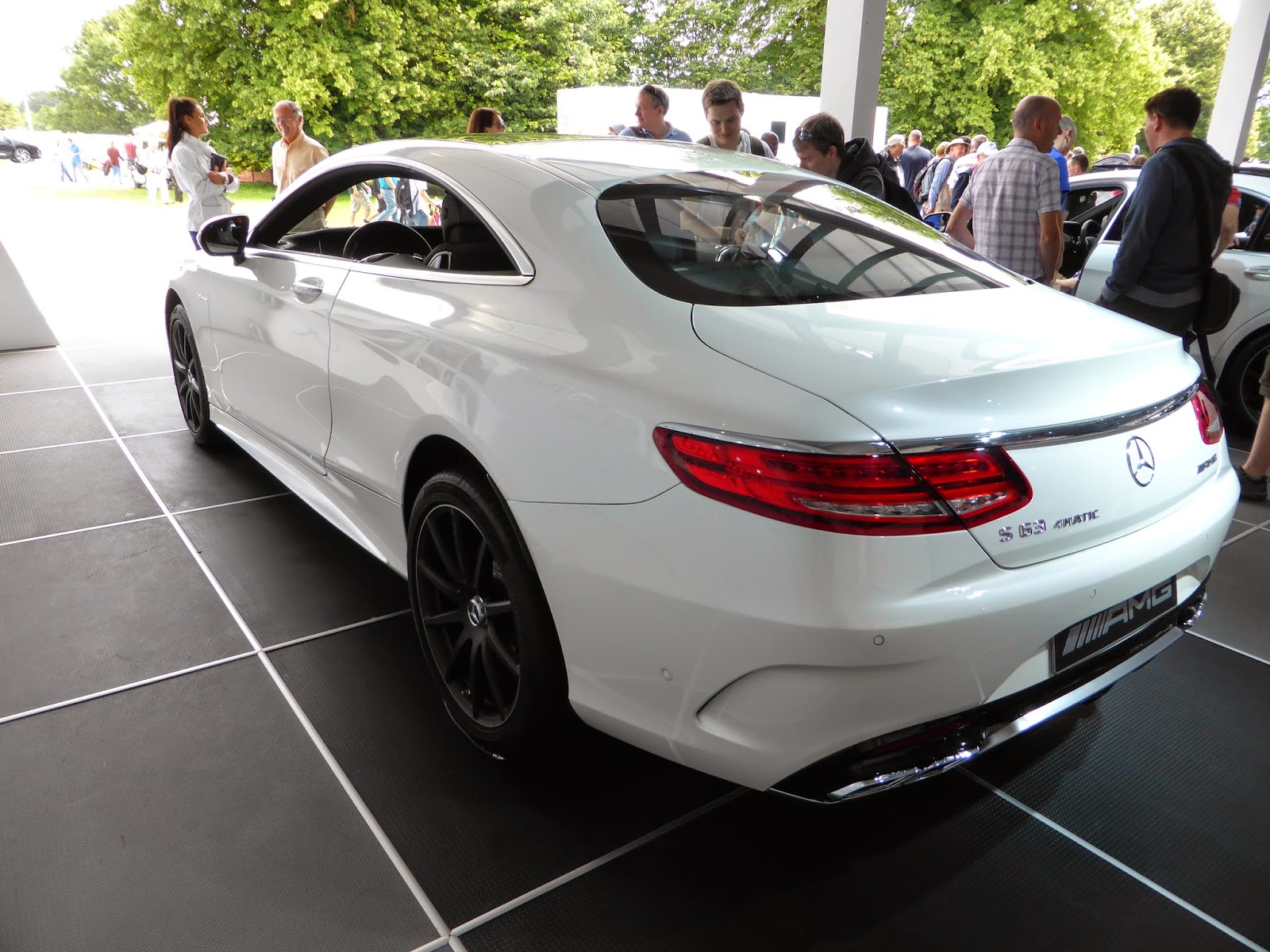 The Mercedes S Coupe looks best from the rear