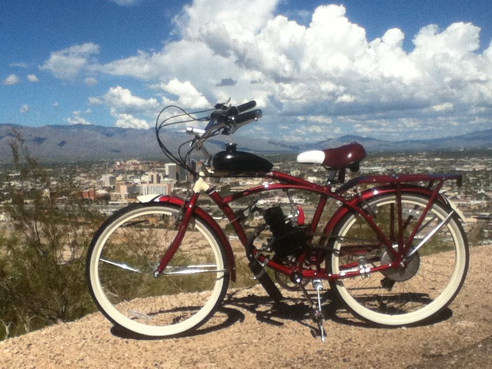 UMOTOBIKESCOM Motorized Bicycling Blog Site  128 Twostroke Build Schwinn