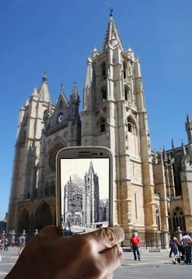 La Catedral de León, con realidad aumentada.