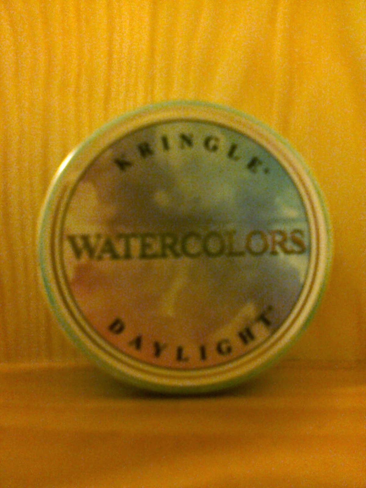 Watercolors Kringle Candle