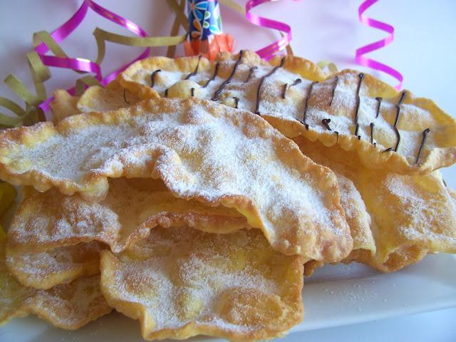 Rezept Orejas de Carnaval (Foto aus: una pincelada en la cocina)