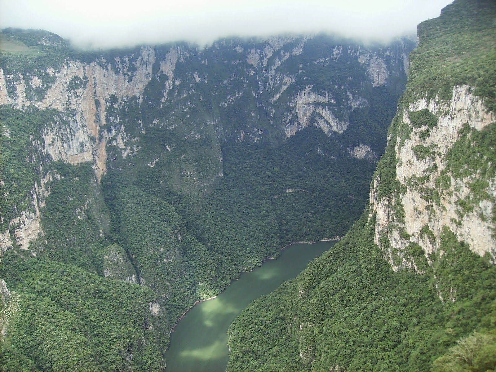 El Cañón del Sumidero en Chiapas México