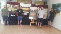Ganadores del concurso de pintura rápida