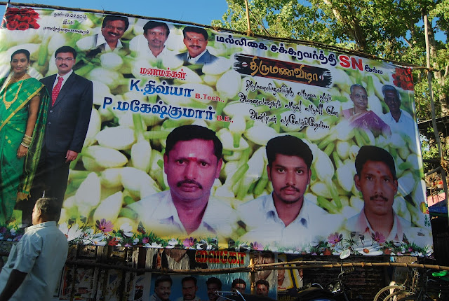 wedding poster in madurai