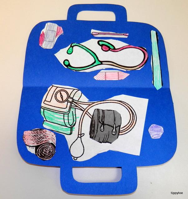 Tippytoe Crafts Doctors Kit