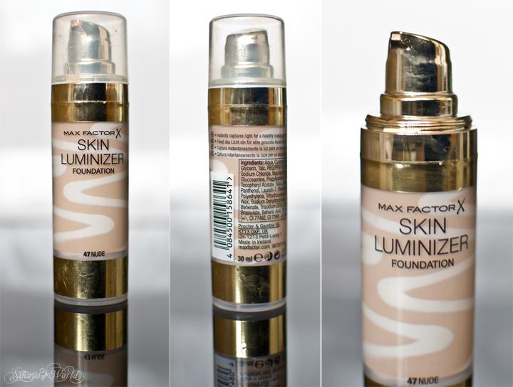 ambalaj max factor skin luminizer review