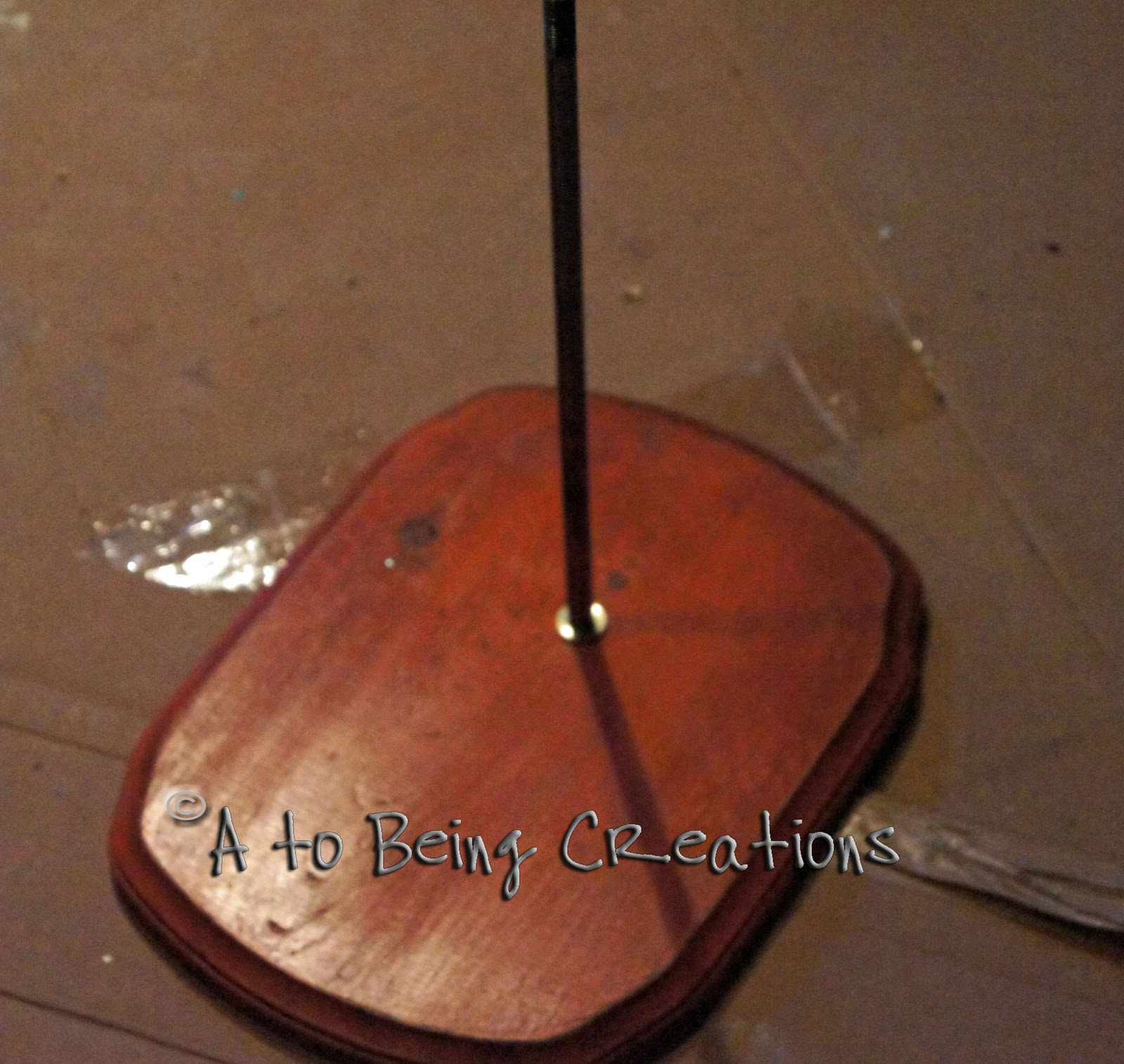 """From A To Being: Goodwill Lamp """"Creation"""" #2 And A Little"""