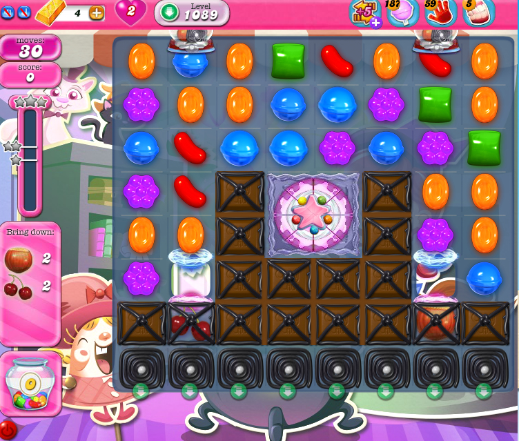 Candy Crush Saga 1089