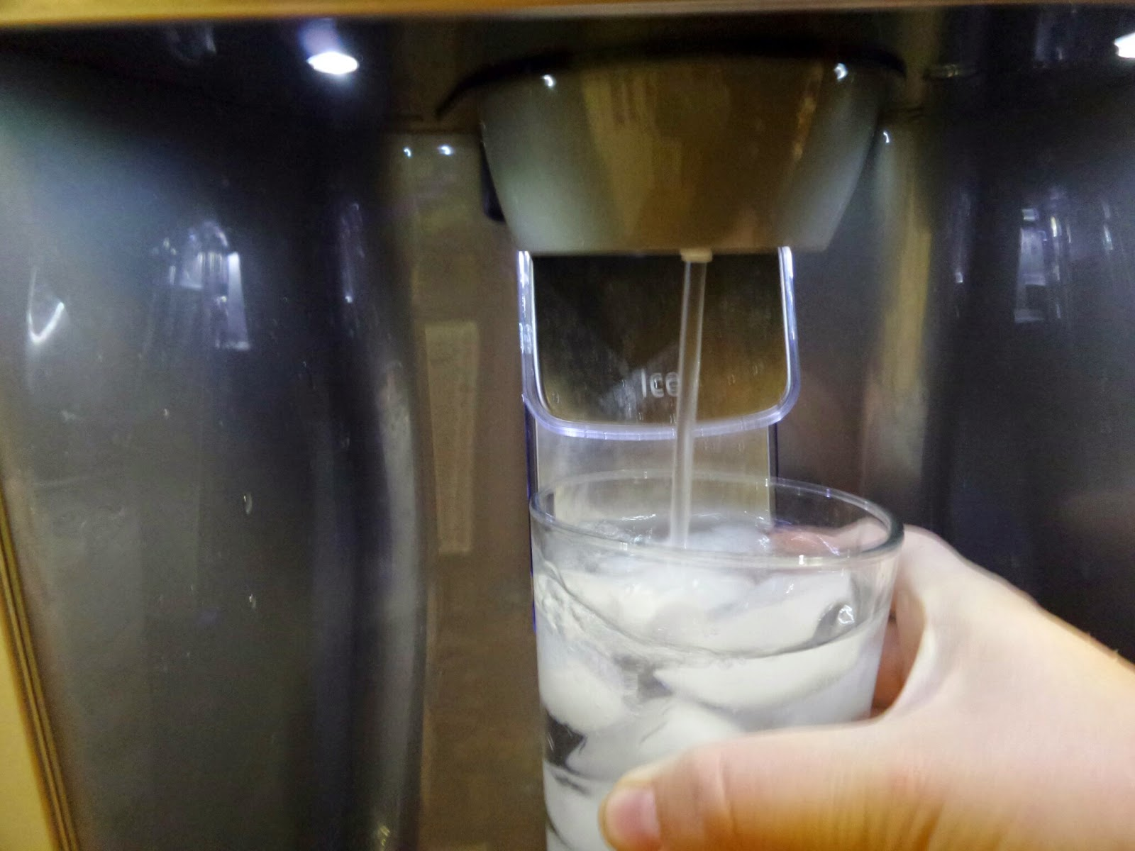 Iced Water For all!