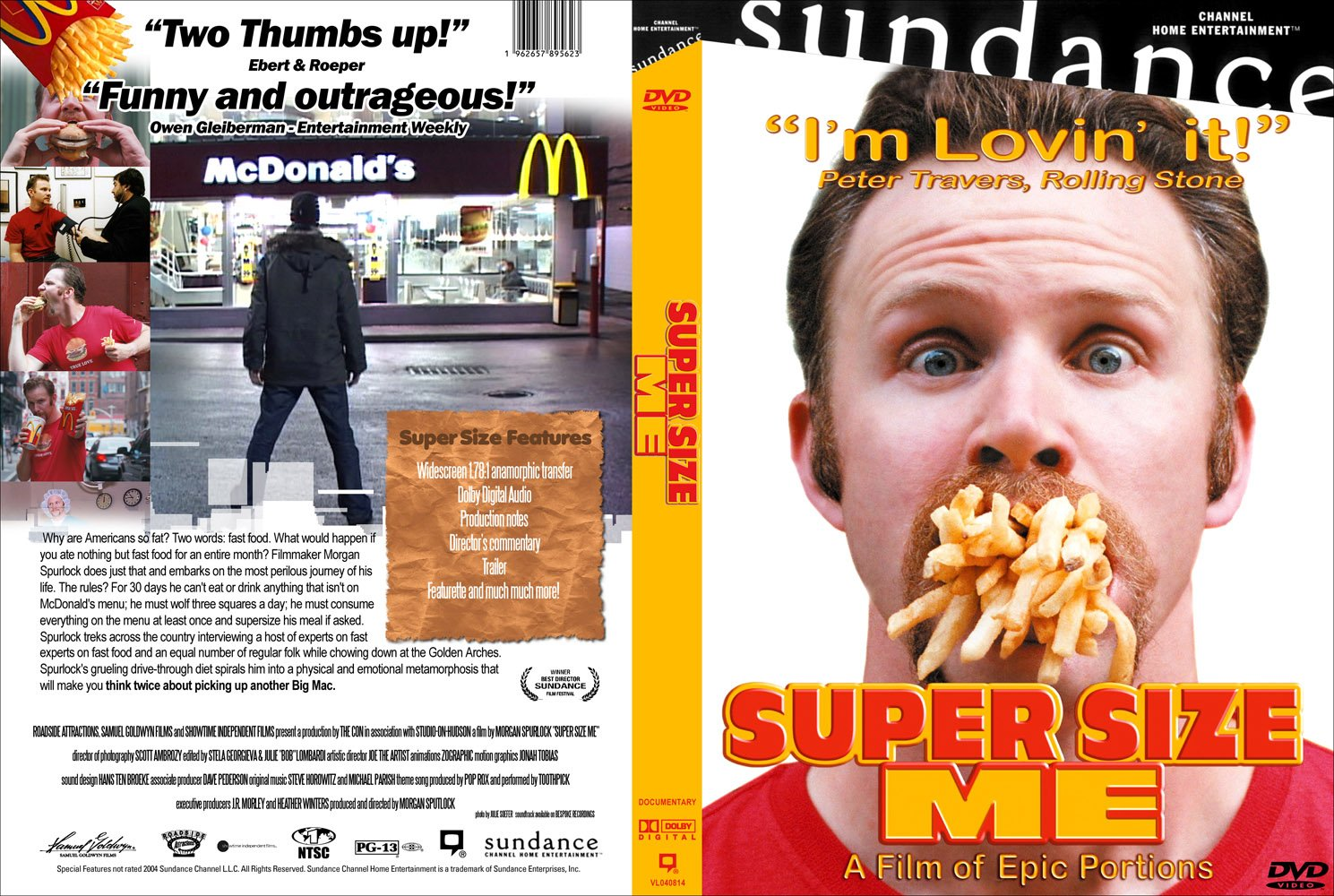 fast food and poor nutrition in the film supersize me by morgan spurlock Super size me is a lively and accessible account of director morgan spurlock's attempt to spend 30 days eating nothing but mcdonald's food-for breakfast super size me directed by morgan spurlock by robert davis | july 20, 2004 it makes fast food look disgusting.