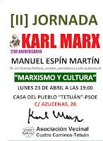 200 Aniversario Karl Marx. [II] Jornada Manuel Espín
