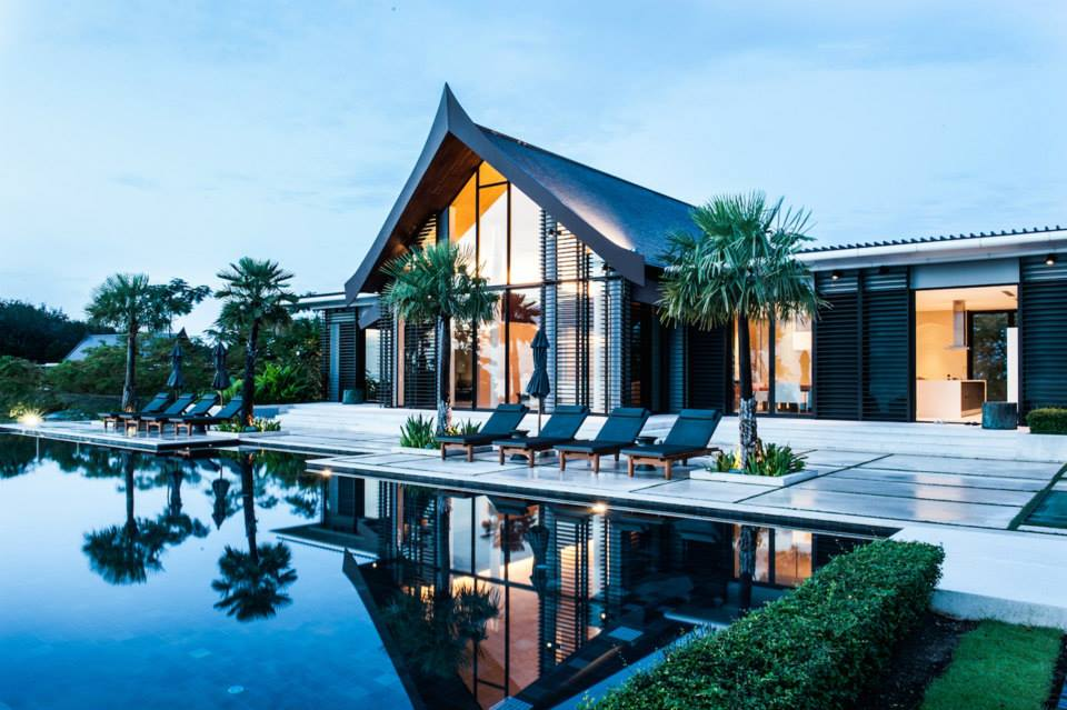 This One Is Called Villa Sawarin And It Has An Perfect Symbiosis Of Contemporary Thai Styles With Combine