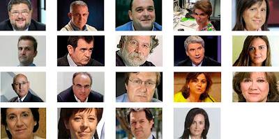 Periodistas de los debates matinales de TVE