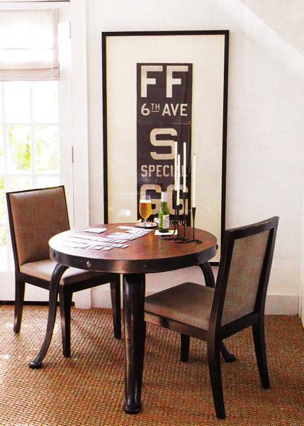 Inspire bohemia delicious dining rooms and nooks for Framed wall art for dining room