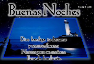 Imagenes de buenas noches con frases cristianas, de Dios