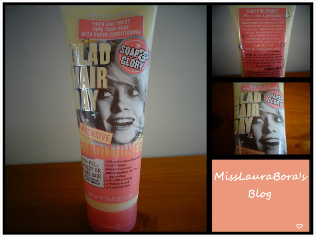 Friday Favourite #4: Soap & Glory's Glad Hair Day Intensive Conditioner for Full, Frizzy or Fried Hair