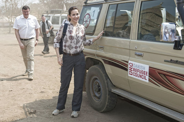 Crown Princess Mary visit Ethiopia (Day 1)