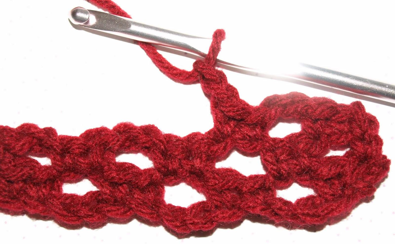 CrochetByKarin: Single Crochet Fence Stitch