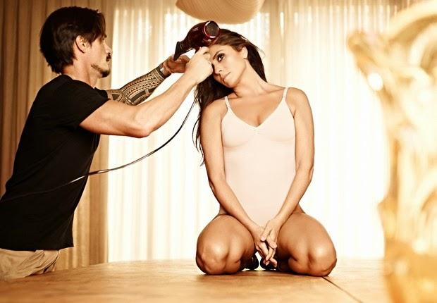 A atriz Giovanna Antonelli faz ensaio sexy de lingerie