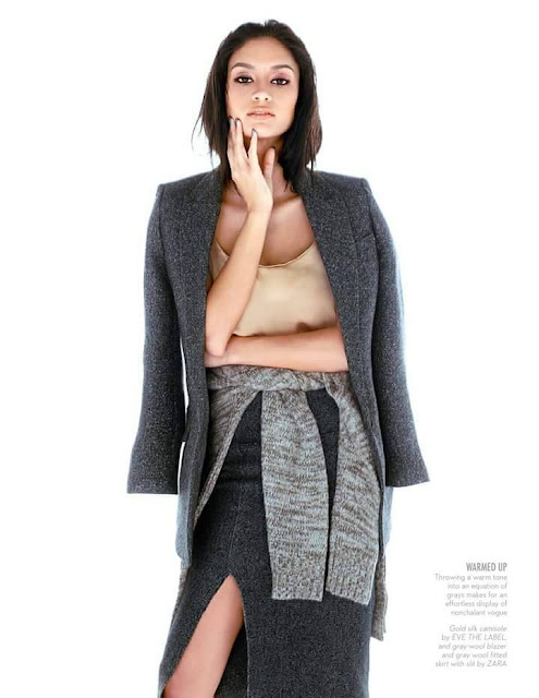 Pia Wurtzbach MEGAstyle December 2015 Cover