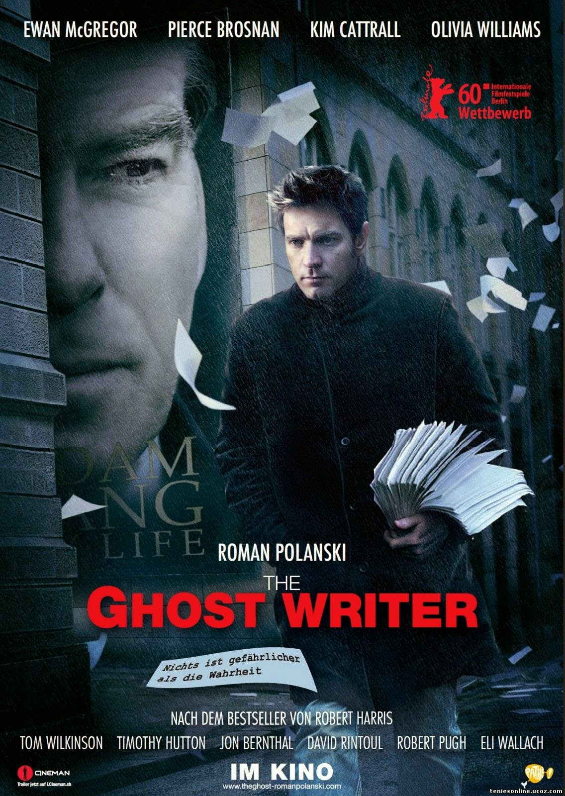 The Ghost Writer (2010) tainies online oipeirates
