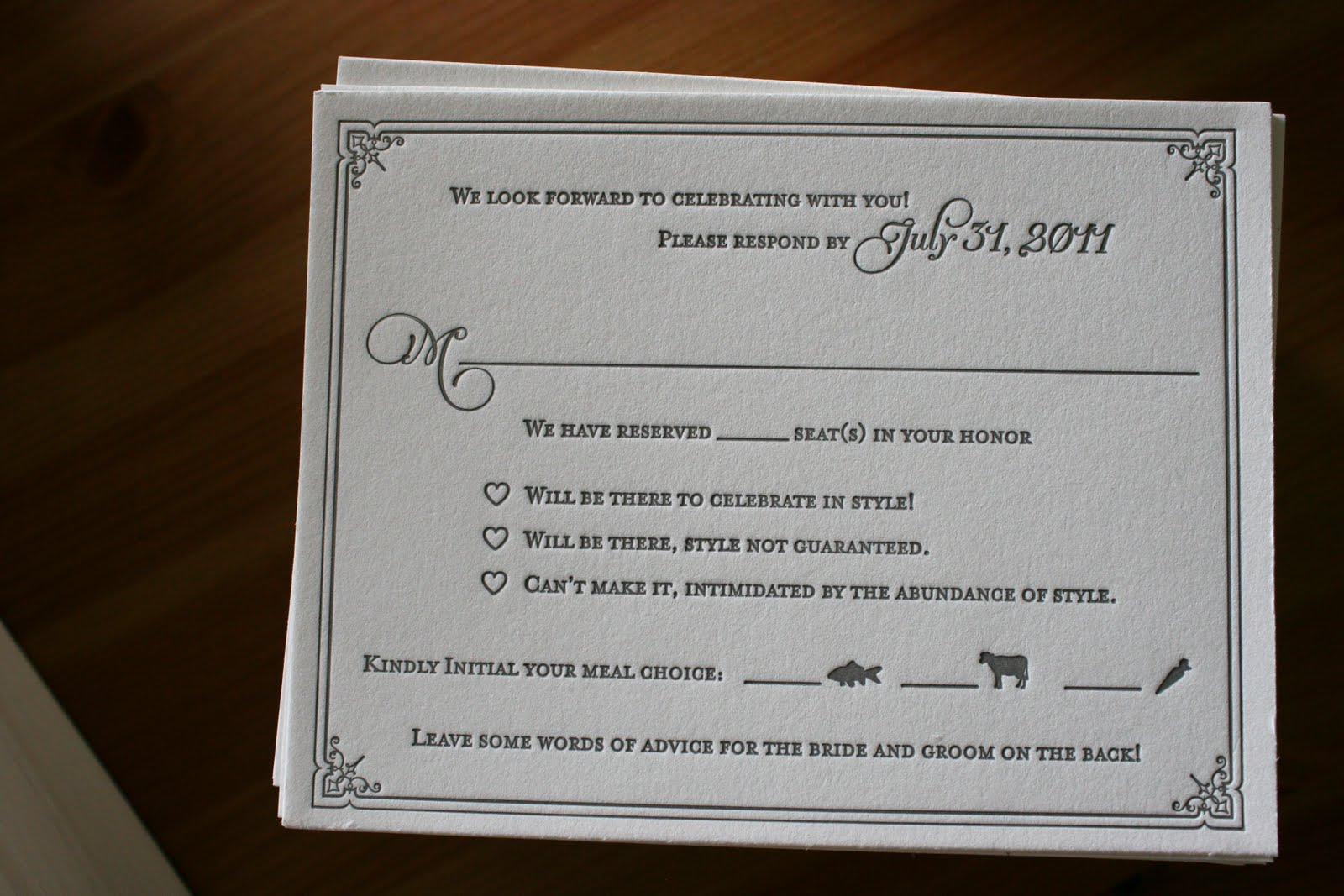 A Candied Invitation Part II Weddingbee