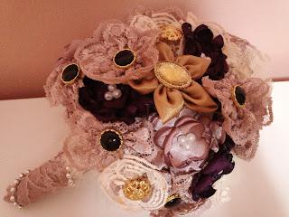 hand bouquet bunga tangan vintage
