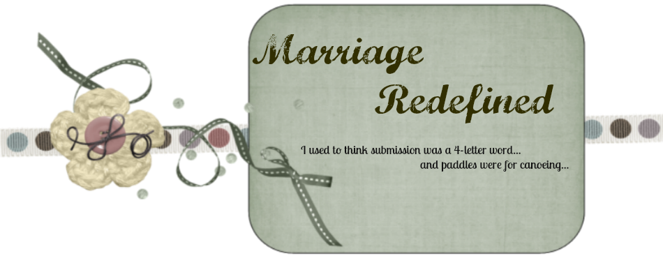 Marriage Redefined