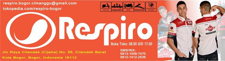 Toko Respiro Bogor - Authorized Store Respiro di kota Bogor - Jaket Motor Respiro