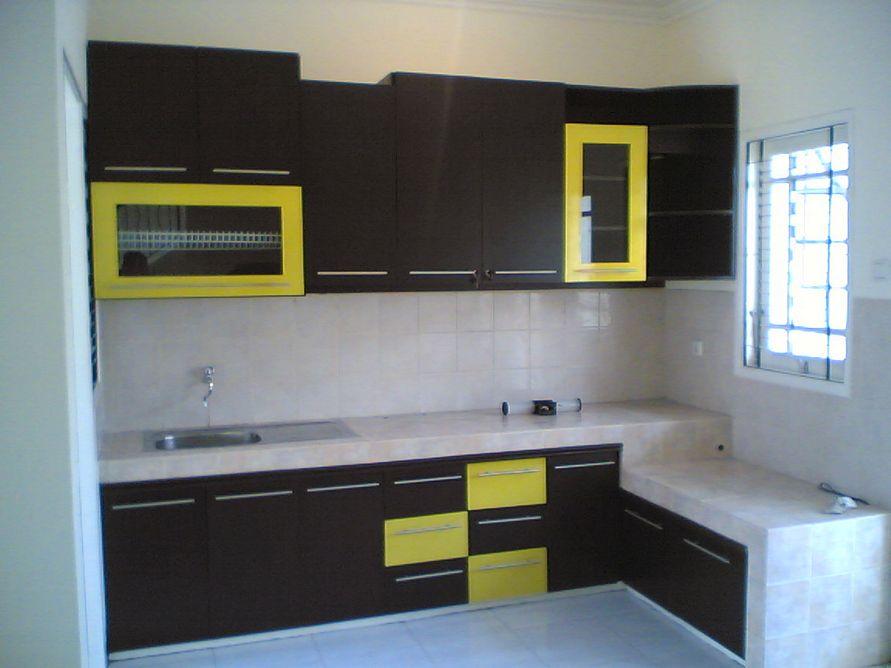 menata desain interior dapur minimalis kecil yang rapi
