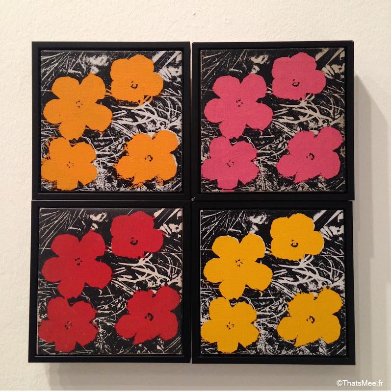 expo warhol unlimited serigraphie fleurs flowers, warhol musee art moderne paris palais Tokyo 2015