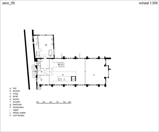 Floor plan of church home