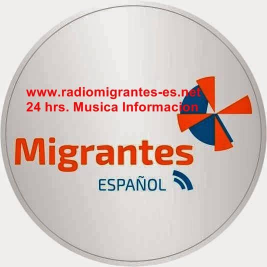 Acompanhe o site de noticias www.radiomigrantes-es.net 24 Hrs. Musica e Informação