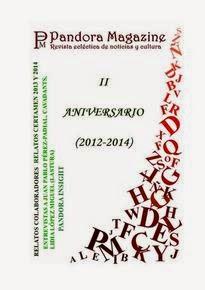 "Antología ""Pandora Magazine"" II Aniversario"