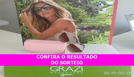 Resultado Sorteio Óticas Brasileira