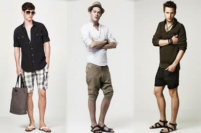 Trend Celana Pendek Pria Terbaru 2014 New Fashion Man