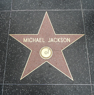 Where is Michael Jackson's star on the Hollywood Walk Of Fame