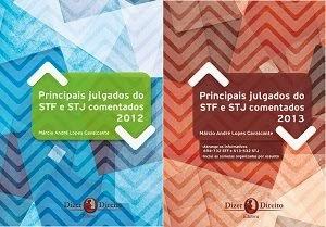 Livros: Principais Julgados STF e STJ