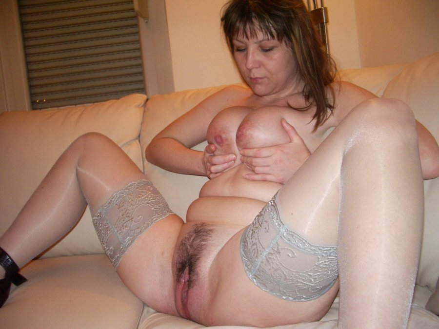 Opinion obvious. Busty chubby mature mom spreads her legs