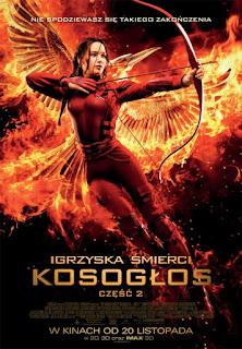 #Filmowy Weekend- Igrzyska śmierci: Kosogłos. Część 2 reż. Francis Lawrence