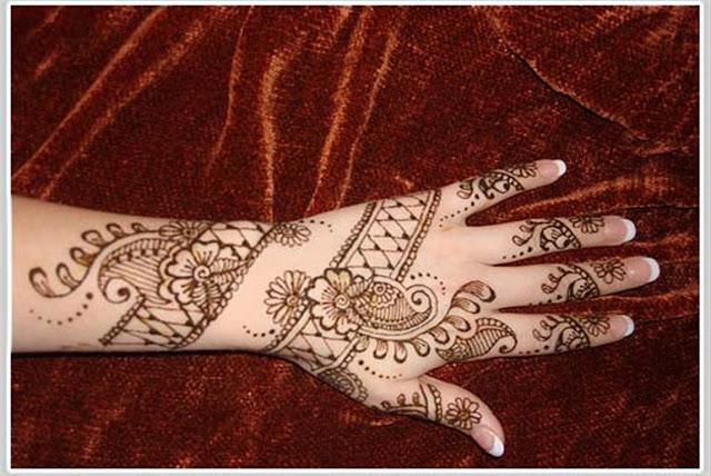 Mehndi Designs For Hand 2012